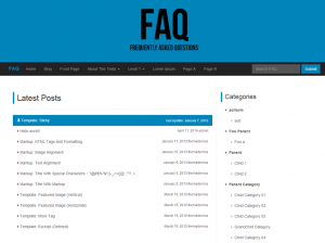 FAQ Theme approved